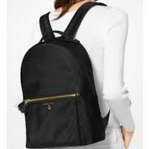 BNWT Michael Kors Kelsey Backpack Black Gold
